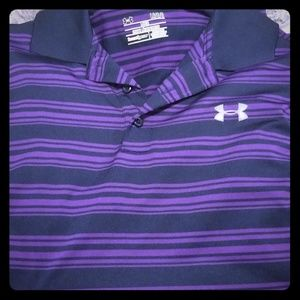 Under armour heat gear golf/dress shirt